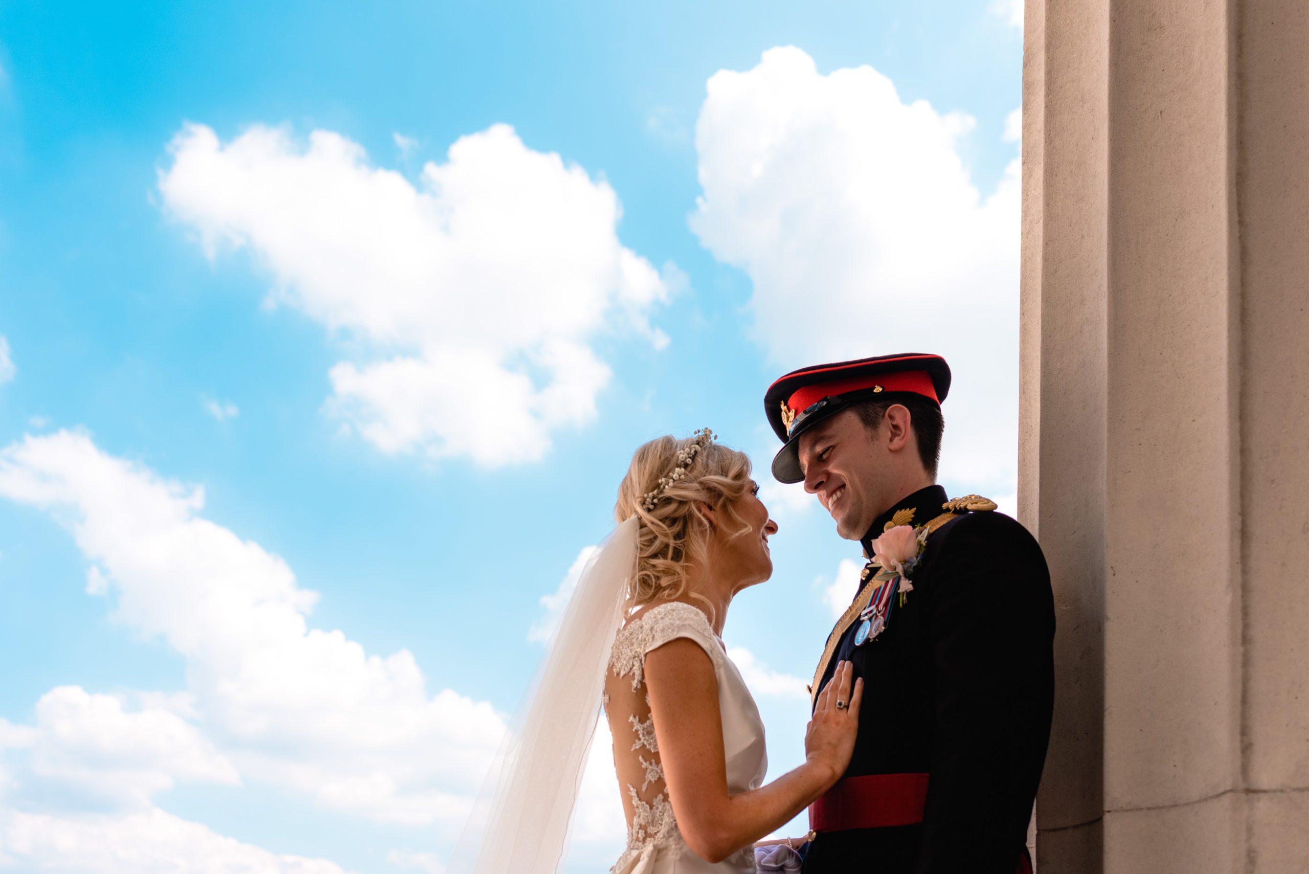 Wedding at Royal Military Academy Sandhurst, UK