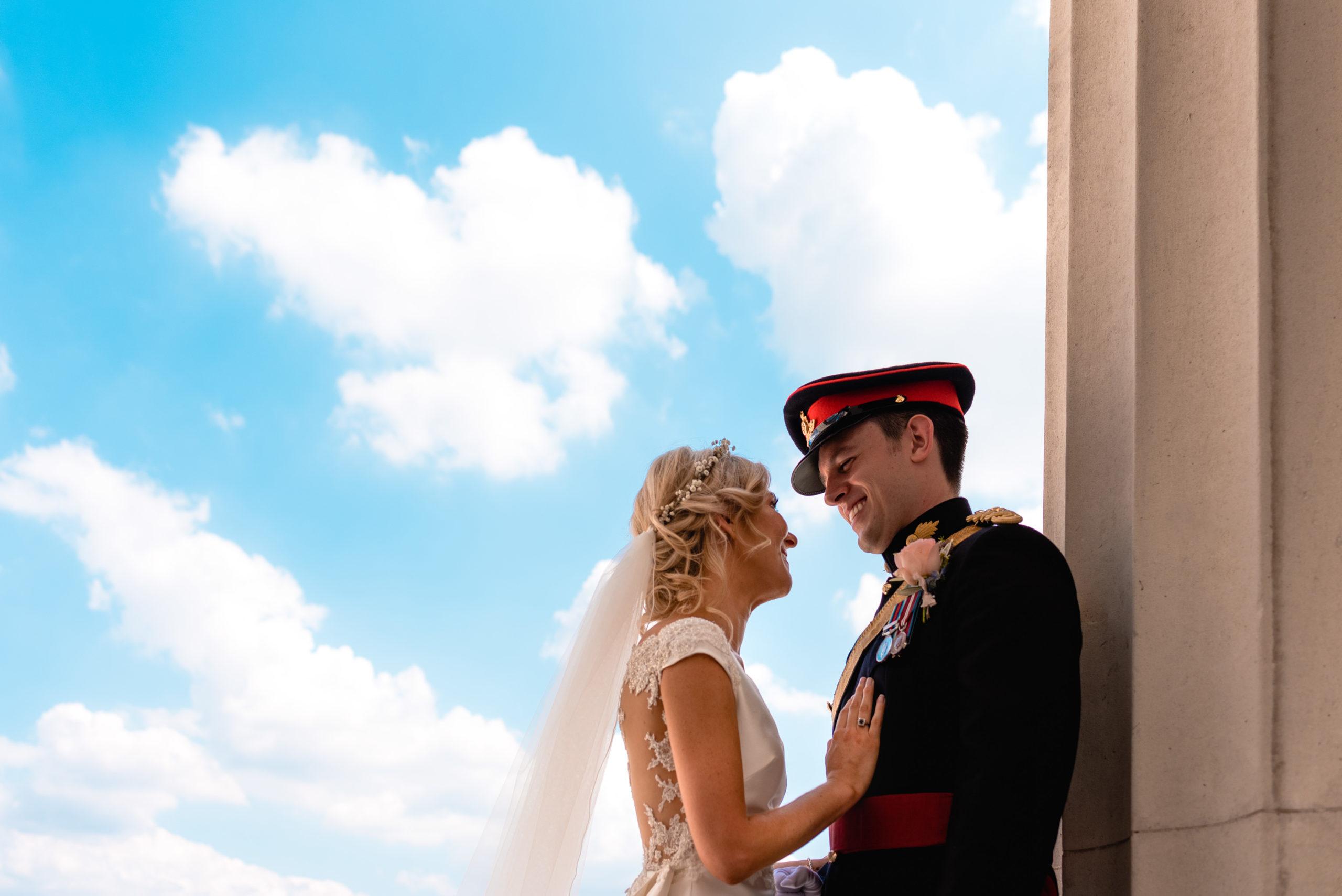 Wedding at Royal Military Academy Sandhurst, UK