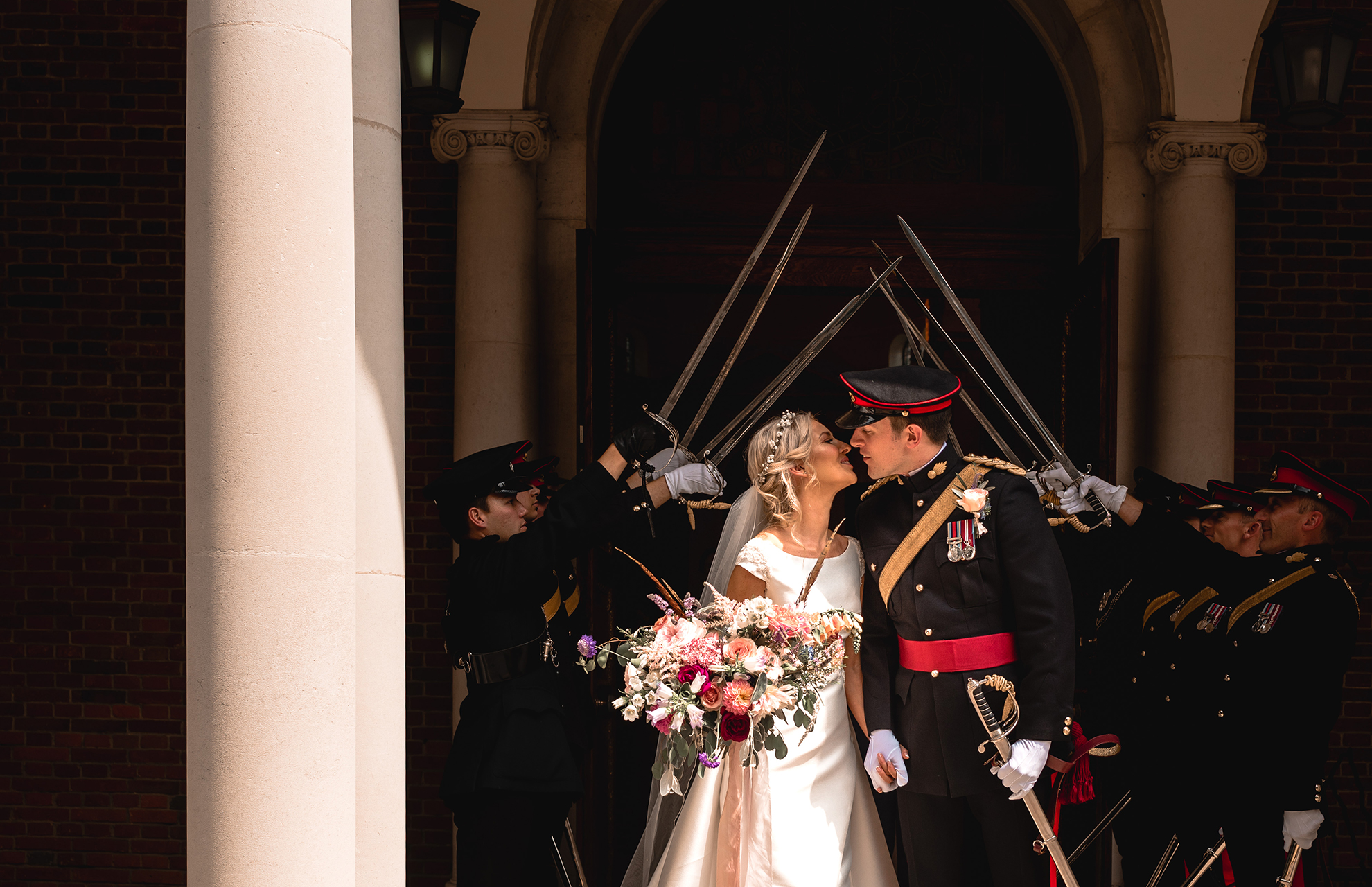 Sandhurst military academy wedding